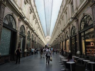Galerías Reales de Saint-Hubert de Bruselas