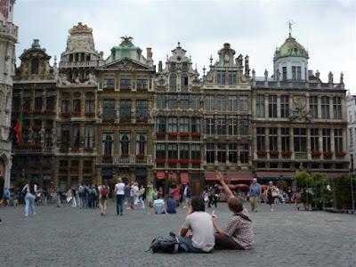 Casas de los Gremios en Grand Place de Bruselas