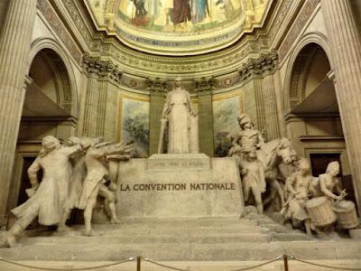 La Convención Nacional en París