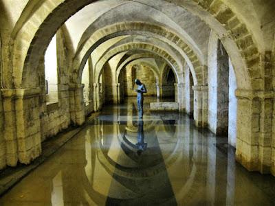 Cripta de la Catedral de Winchester