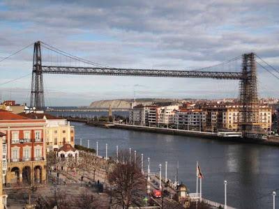 Puente Colgante desde Portugalete