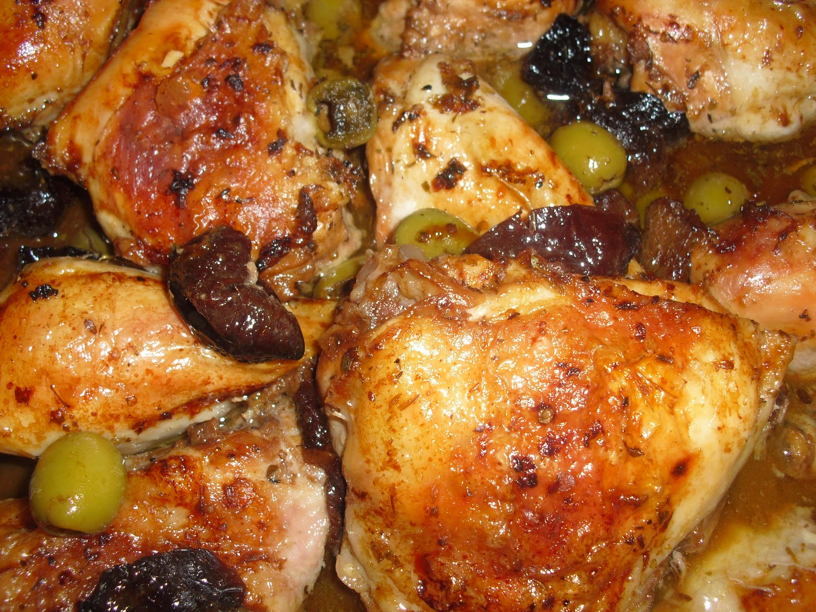 The Gush Gourmet: Chicken Marbella