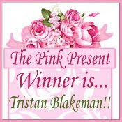 The Pink Present WINNER...