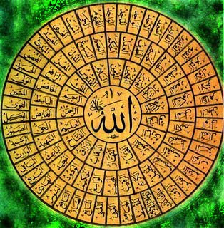 Al-Asma-ul-Husna, The 99 Most Beautiful Names of God