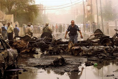 Kirkuk Irak Utara Diguncang Serangan Bom Bunuh Diri