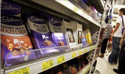 Cadbury Chocolate Rejects Kraft Food Offers