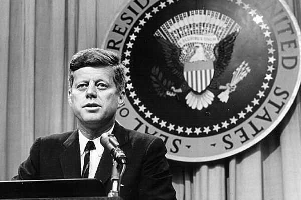 """the assassination of the 35th president of the united states of america john f kennedy John fitzgerald """"jack"""" kennedy (jfk) was the 35th president of the united states, serving from 1961 until his assassination in 1963 at age 43, he was the youngest person and the first roman."""