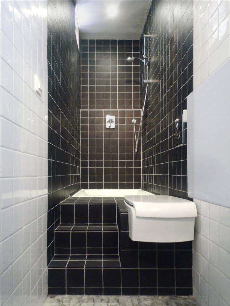 Solutionappart transformer une petite salle de bain couloir for Photo petite salle de bain moderne