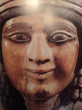 La Princesse assyrienne de Nimroud, Ivoire. Iraq. 720 av. J-C.