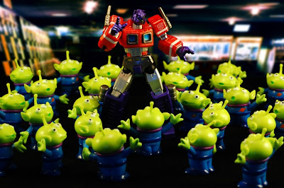 Transformers + Toy Story