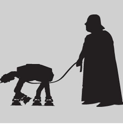 Vader e AT-AT