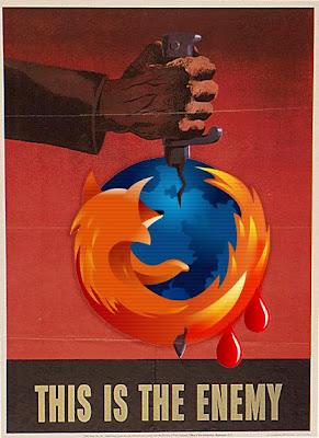 Firefox na Faca