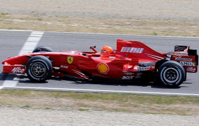 Michael Schumacher F2007