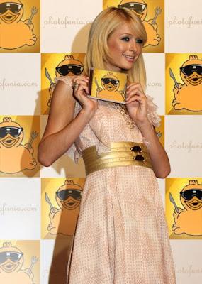 Paris Hilton - Pato Com Fome