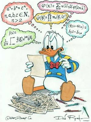 Donald e a Matemática