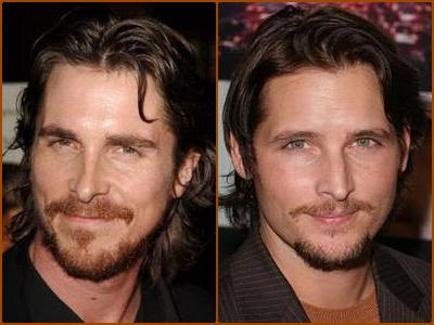 Christian Bale & Peter Facinelli