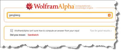Gangbang Wolfram Alpha