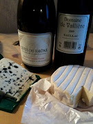stinky cheese and French wine
