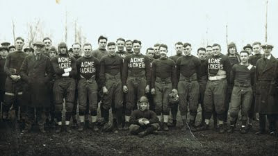 67cdebb93 This is the squad that Curly Lambeau led into the fledgling American  Professional Football Association in 1921