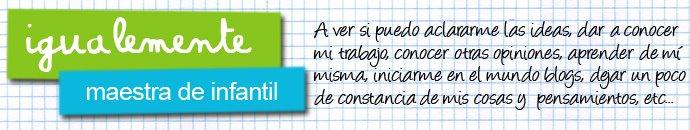 igualemente _ Maestra de Infantil