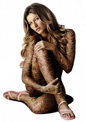 models inspiration gisele bundchen ipanema 2005