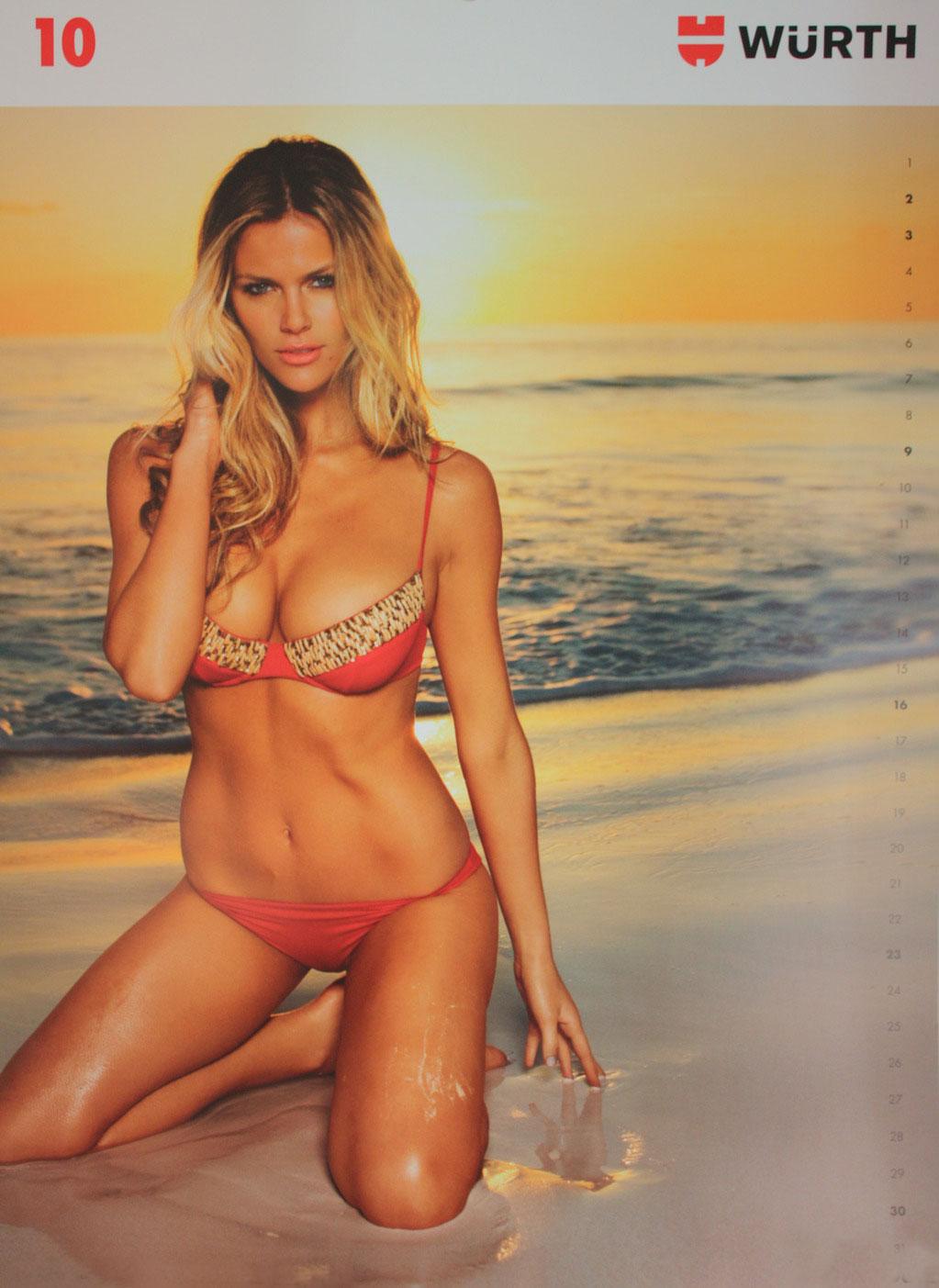 Wurth+Calendar+Girls+2010 Models Inspiration: Brooklyn Decker (Wurth ...