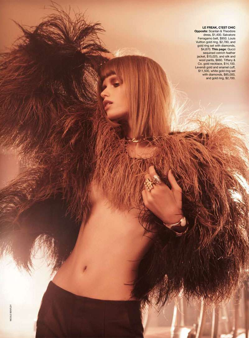 Abbey Lee Kershaw Vogue Australia Nov 2010 by Nicole Bentley