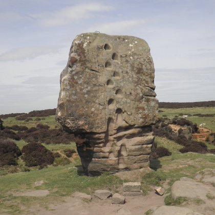 The Cork Stone, Stanton Moor
