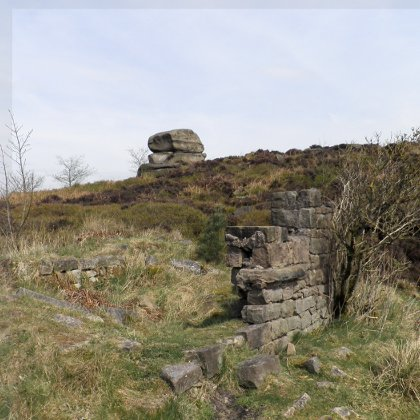 Ruins on Stanton Moor