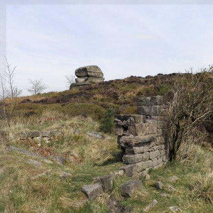 Ruins on Stanton Moor
