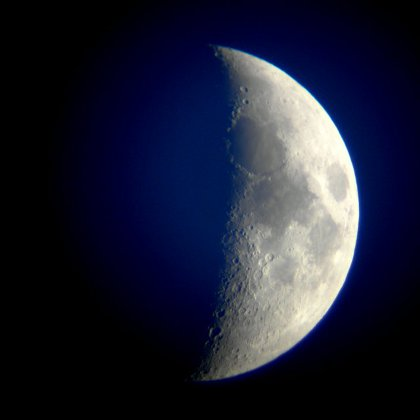 the Moon on 20 April 2010