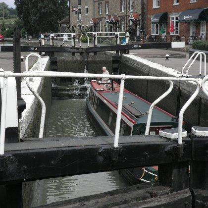 Stoke Bruerne Canal Lock
