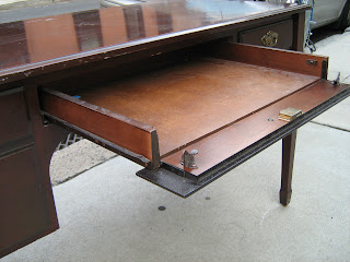 Uhuru Furniture Collectibles Bombay Writing Desk with Secret