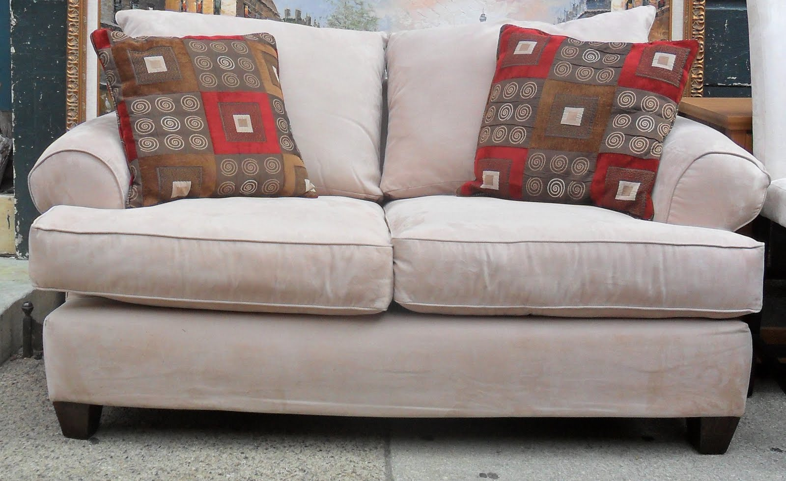 OC Recycled Furniture Home Used Couch Modern L Shaped