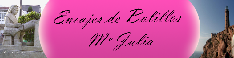 Encajes de Bolillos Mª Julia