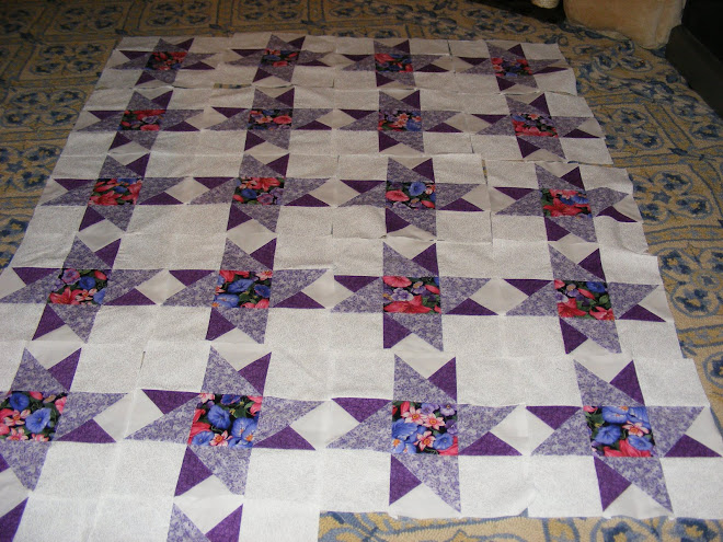 Windmill quilt I've been working on.