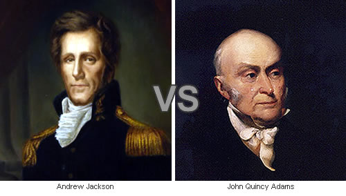 andrew jackson and john quincy adams Andrew jackson was the but secretary of state john quincy adams came to jackson's andrew jackson was born on march 15, 1767, to andrew and elizabeth.
