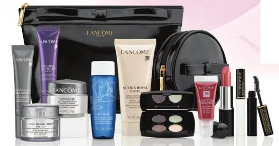 cinnamon kitten  lancome bonus time at sears