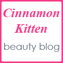 Cinnamon Kitten beauty blog