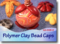 Polymer Clay Bead Caps