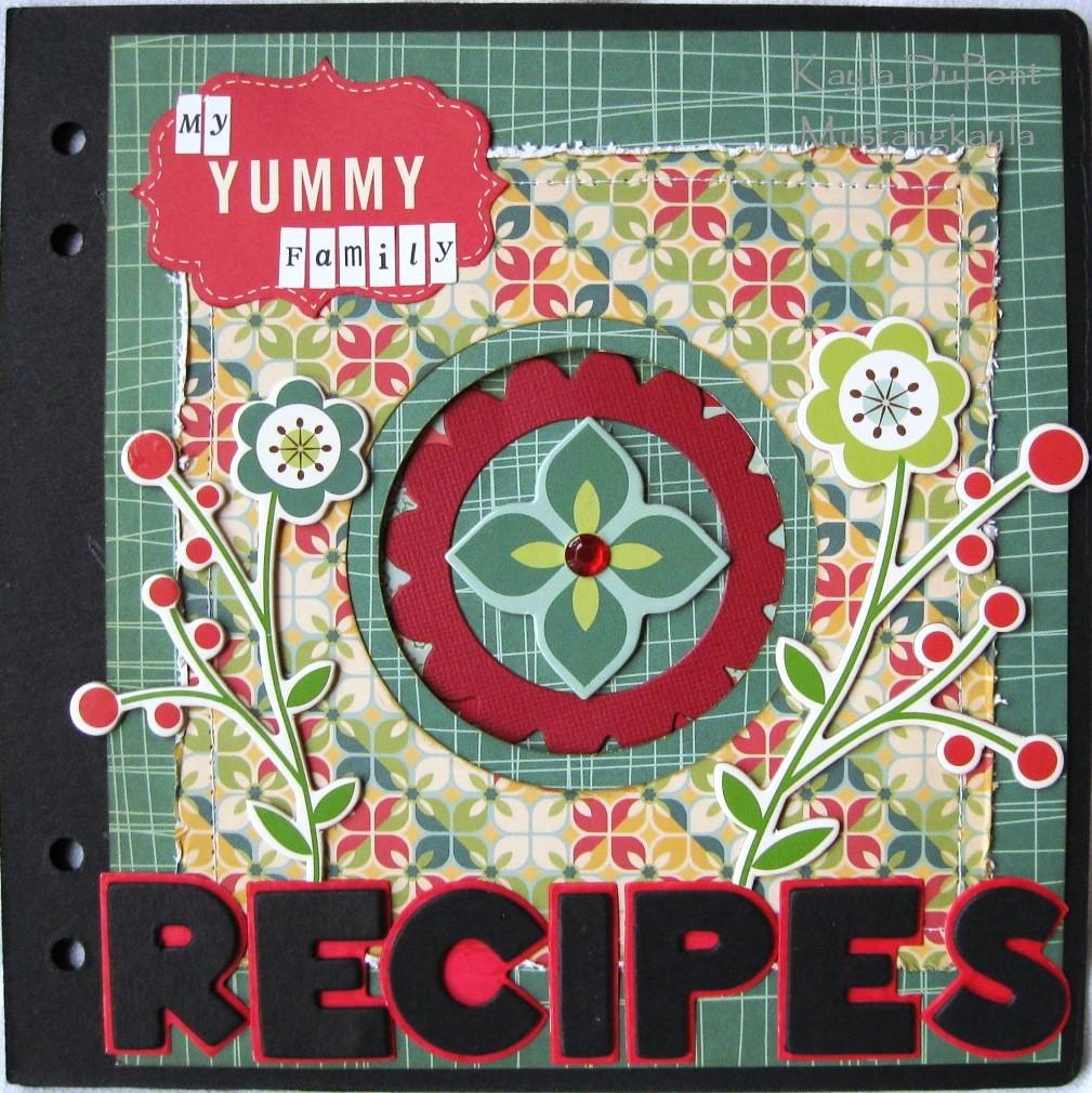 Creative Recipe Book Cover : Dream believe imagine cosmo cricket recipe book cover