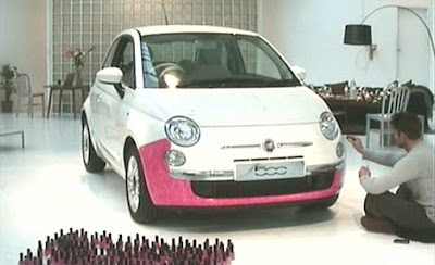 Welshman attempts world record by painting his car with nail polish,world recods 2010,worlds longest painting record