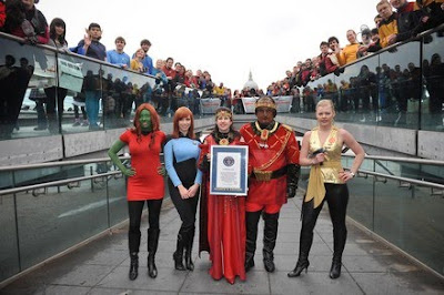Largest Trek costumes picture,Largest Trek costumes images, Largest Trek costumes photo, Trek costumes world record picture, Trek costumes world record images, Trek costumes world record photo, Trek costumes world record video