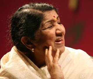 Lata Mangeshkar photo, Lata Mangeshkar picture, Lata Mangeshkar Guinness World Record 2011, Lata Mangeshkar 81 birthday, most number of Song recordings in the world