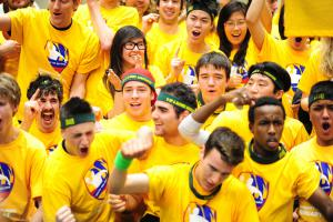 World's Largest Dodge ball Game 2011, World's Largest Dodge ball Game video, Alberta Students Guinness World Record 2011, World's Largest Dodge-ball Game picture, University of Alberta Dodge-ball Game world record, Largest Dodge-ball Game 2011