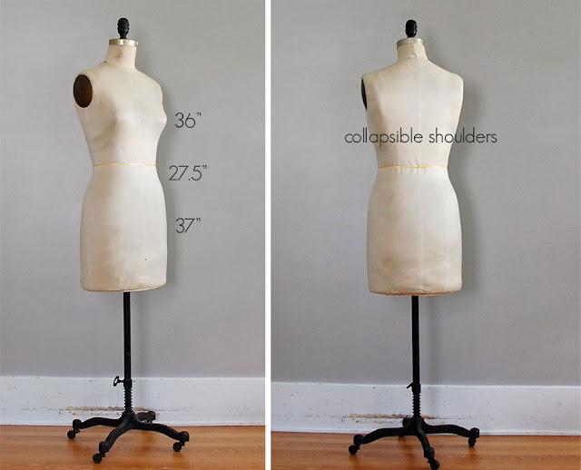 Vintage Dress Forms For Sale 34