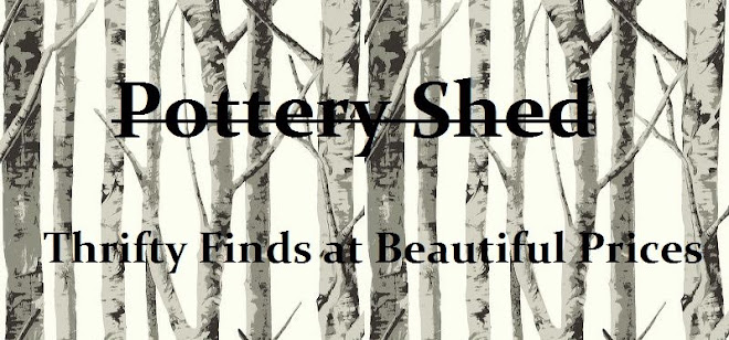 Pottery Shed: Thrifty but Beautiful