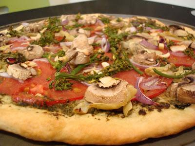 veganize it don t criticize it vegan recipes no yeast pizza