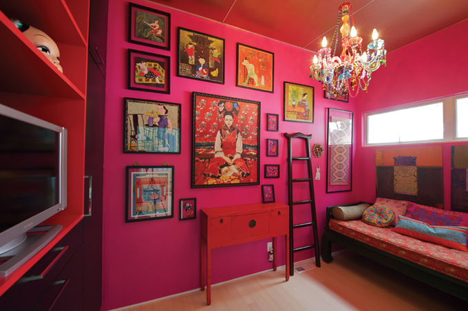 Colored Rooms Inspiration With Bright Colored Girls Room Images