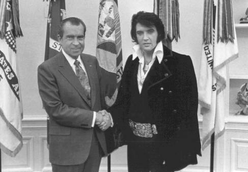 ELVIS with NIXON
